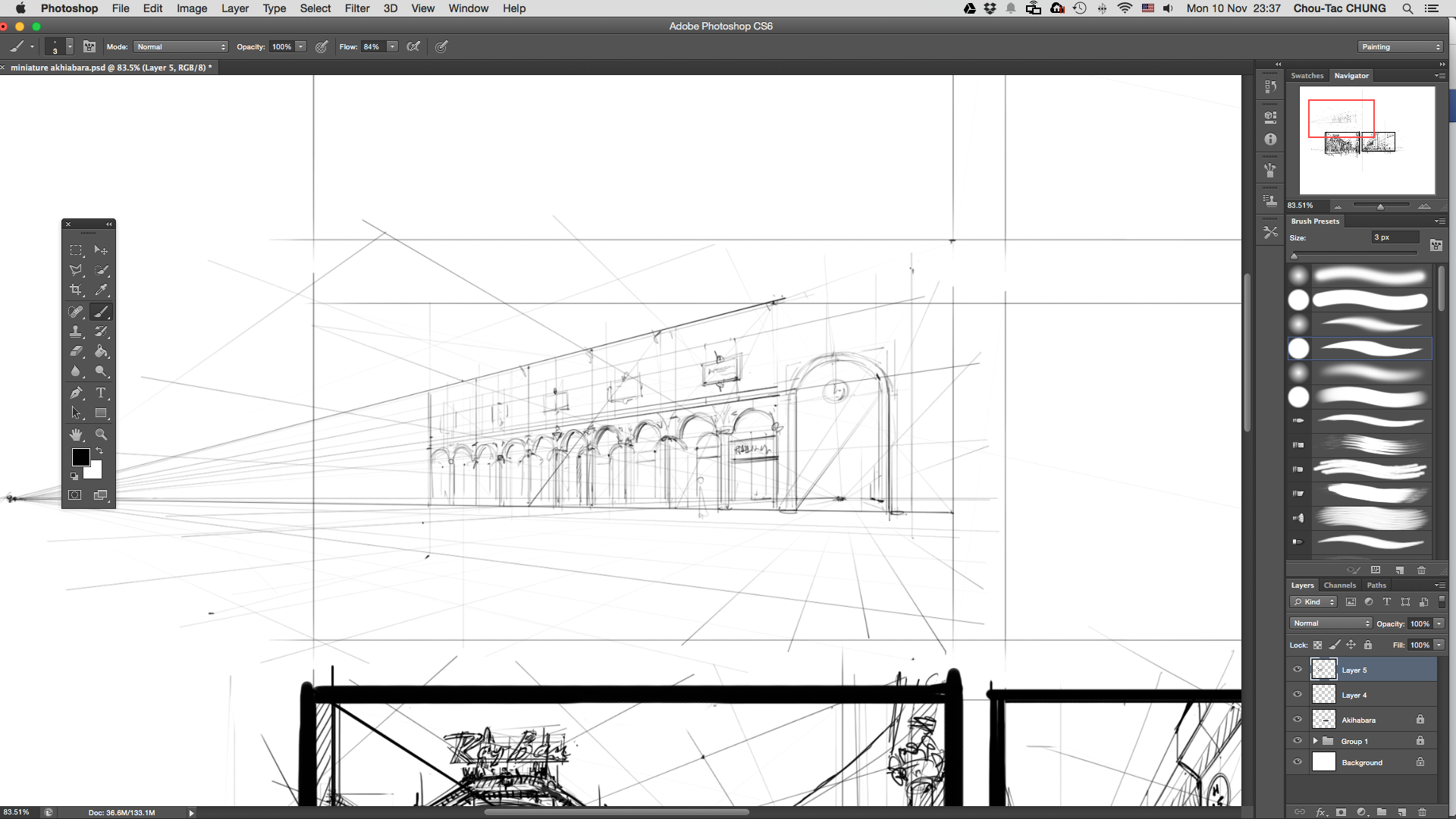 How to draw pillars in perspective ? |TIP64