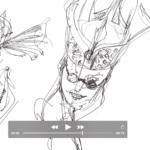 Sketch with fluid lines |TIP61