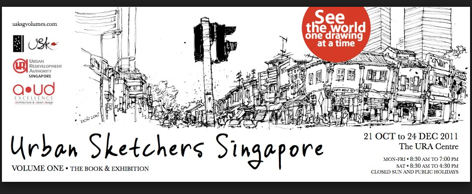 The urban sketchers