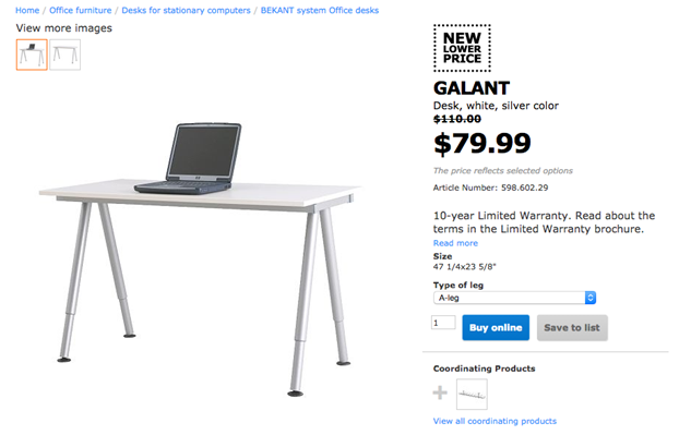 What to buy at Ikea for drawing on a Wacom Cintiq 22 HD
