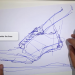 16 TIPS – How to draw an Adidas sneaker design |Video