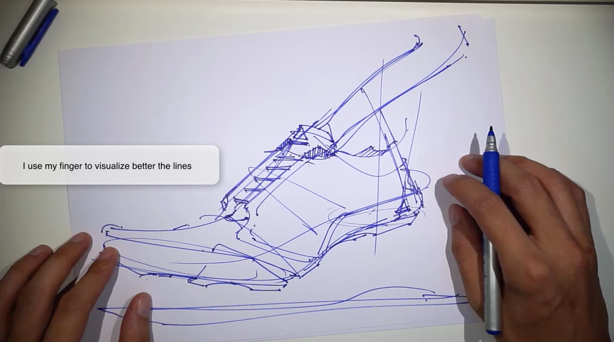 VIDEO] 16 TIPS , How to draw a shoe , Adidas sneaker design