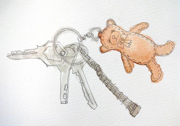 Harrods-Bear-the design sketchbook - Cherry