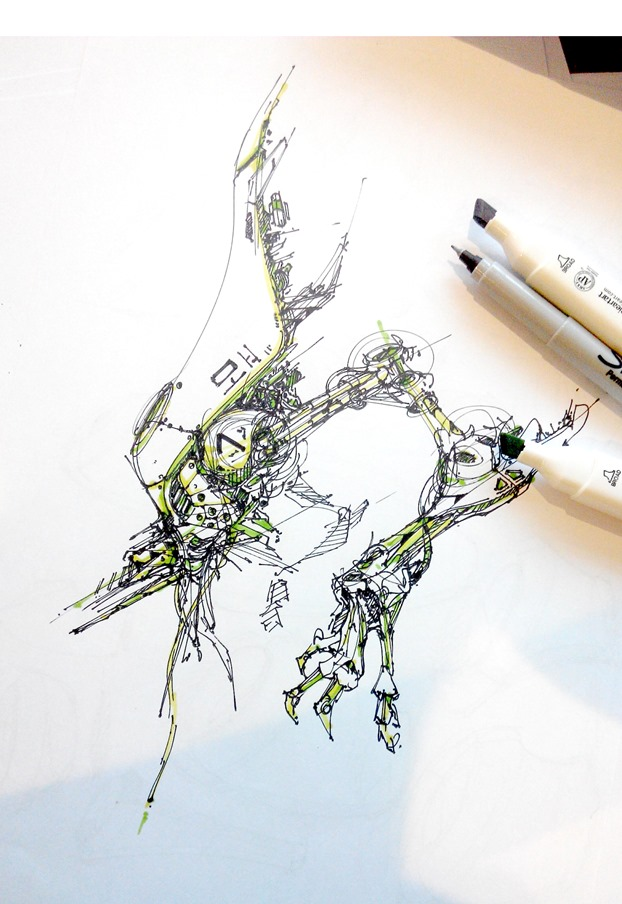 concept-art-space-engine-theDesign-Sketchbook-a