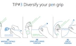Do you draw and hold your pen the right way? |TIP101