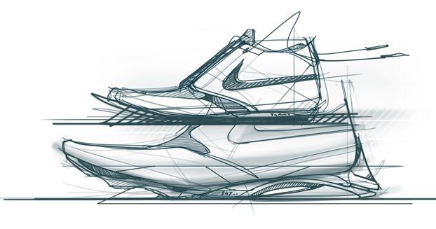nike-sneaker-tablet-wacom-cintiq-22hd-the-design-sketchbook-sketching