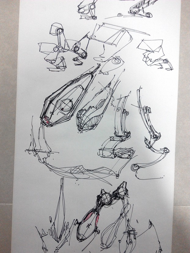 sketching challenge concept art the design sketchbook c