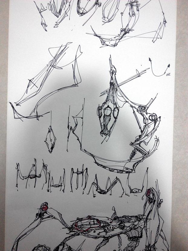 sketching challenge concept art the design sketchbook d