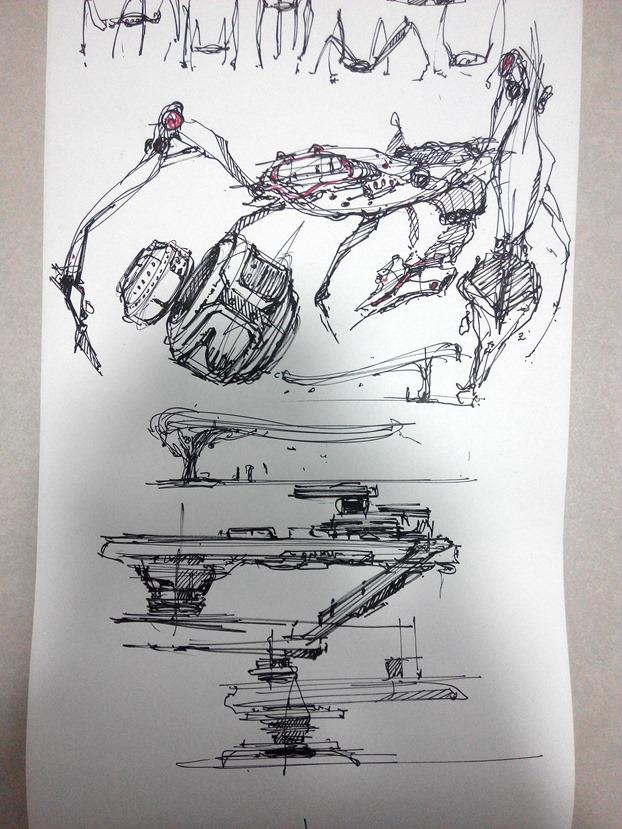 sketching challenge concept art the design sketchbook e