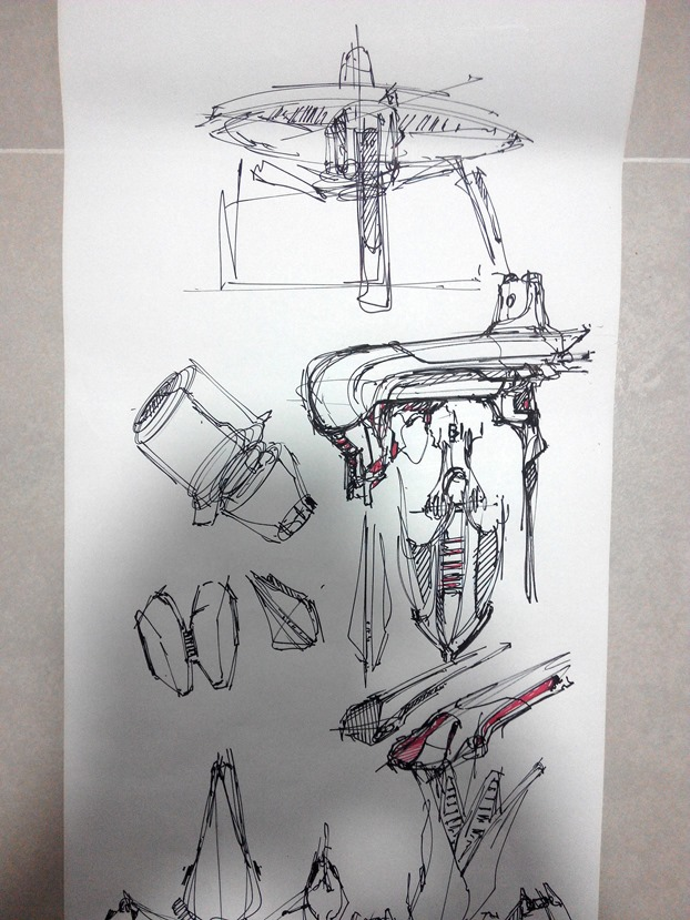 sketching challenge concept art the design sketchbook f