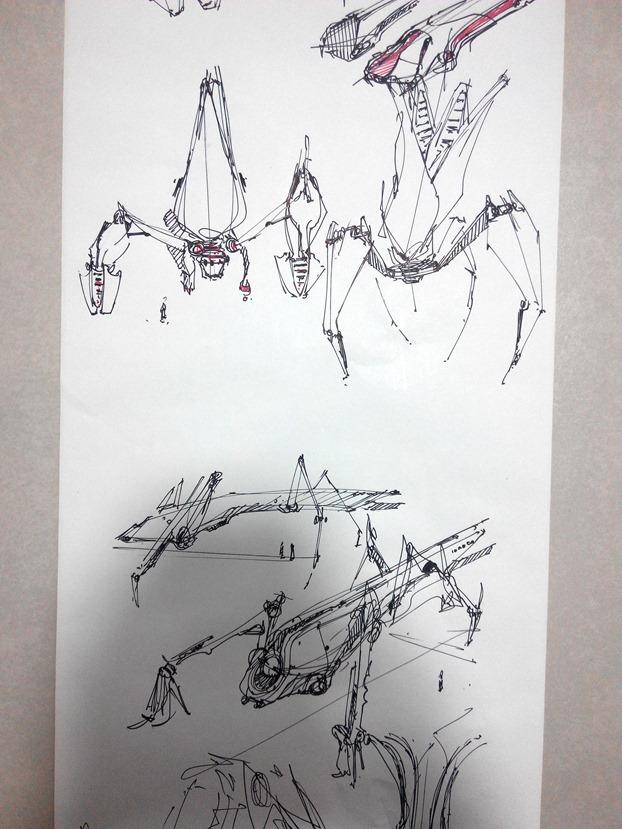 sketching challenge concept art the design sketchbook g