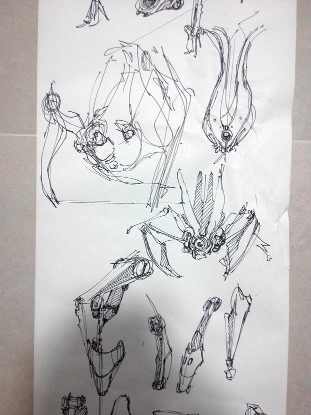 sketching challenge concept art the design sketchbook h