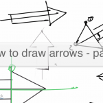 How to draw arrows in perspective |Part 1 |TIP105