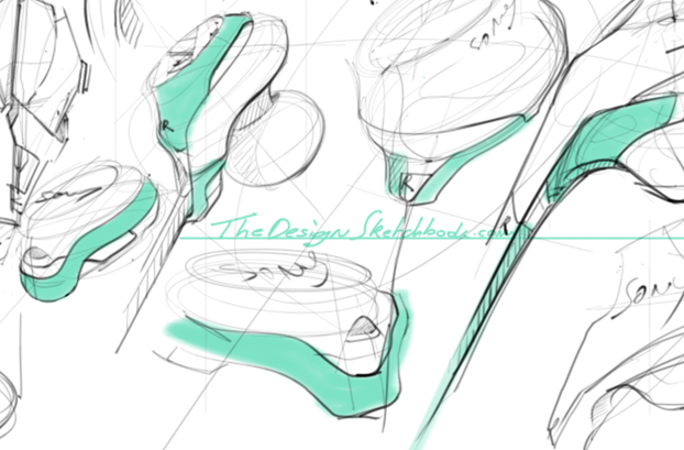 Doodle-storm-earphone-design-sketching