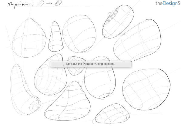 Sketch faster and better with he Contour lines |TIP 103