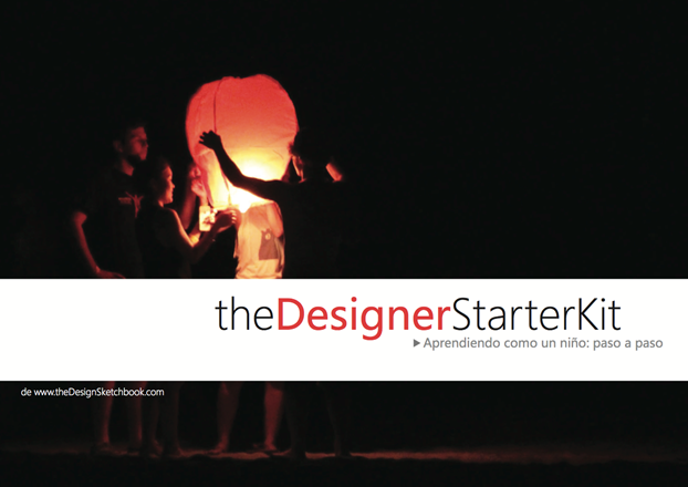 the Designer Starter Kit eBook Cover in Spanish