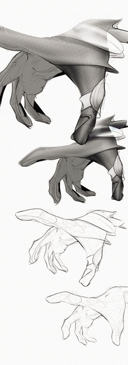 Photoshop Sony Glove