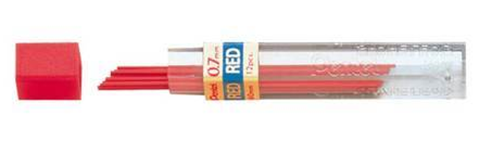 Colour lead red 0.7mm