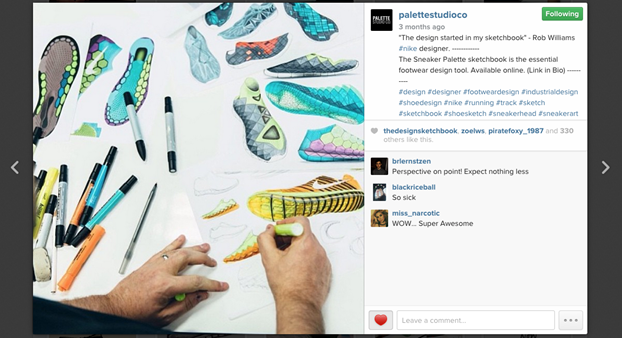 Rob Williams Nike shoe designer