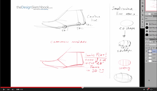 Tip 119 | 3 essential tips on How to draw shoes - Side view