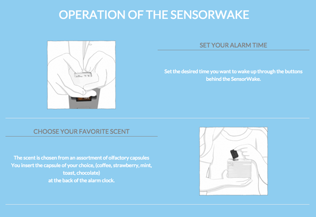 How does it works - Sensorwake