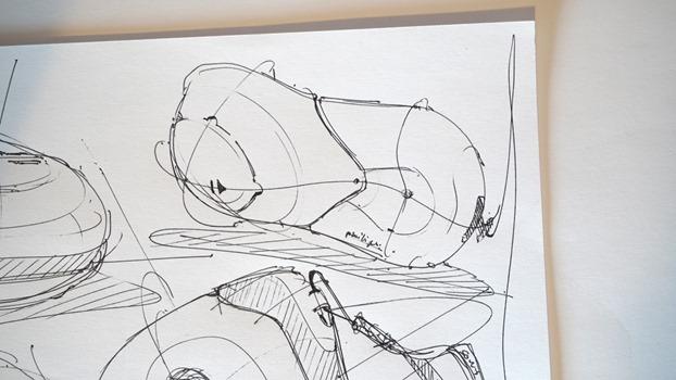 Draw product design - Random shapes - The Design Sketchbook a