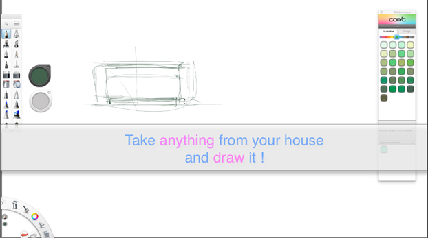 Draw my house-the design sketchbook Industrial design sketching a