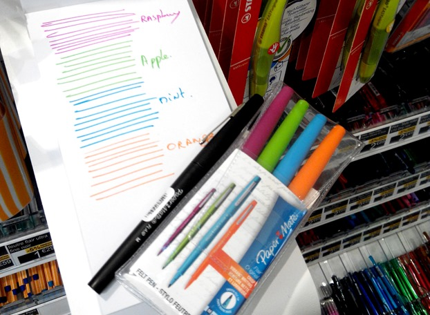 Papermate lair M 4 colours