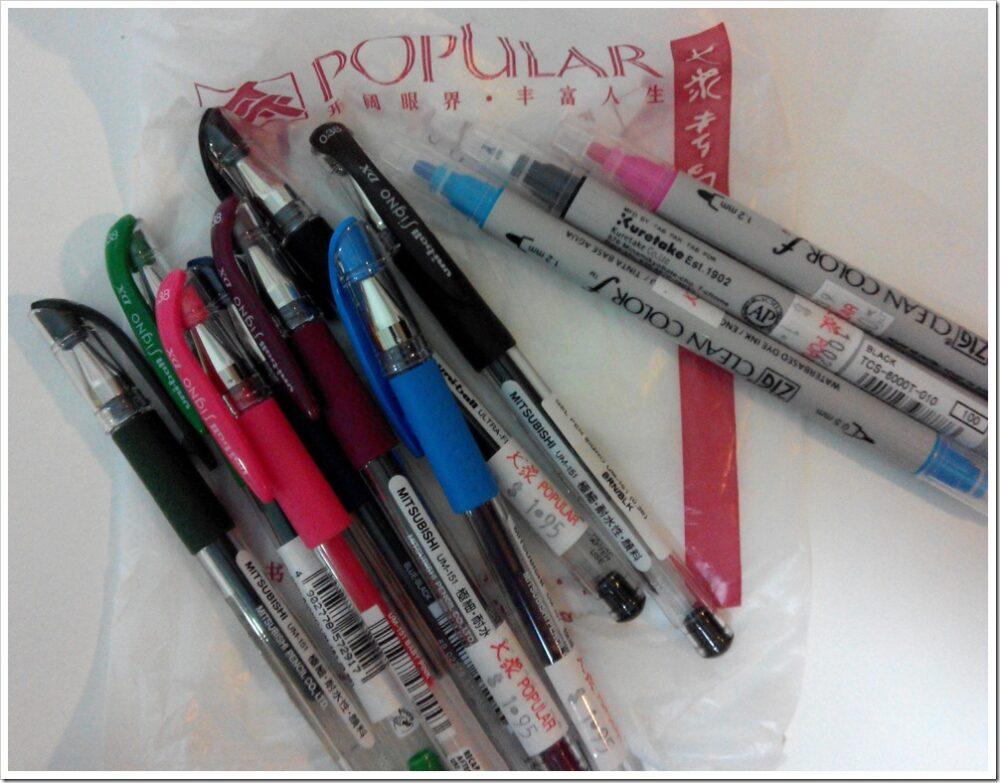 Pen signo Mitsubishi -the design sketchbook