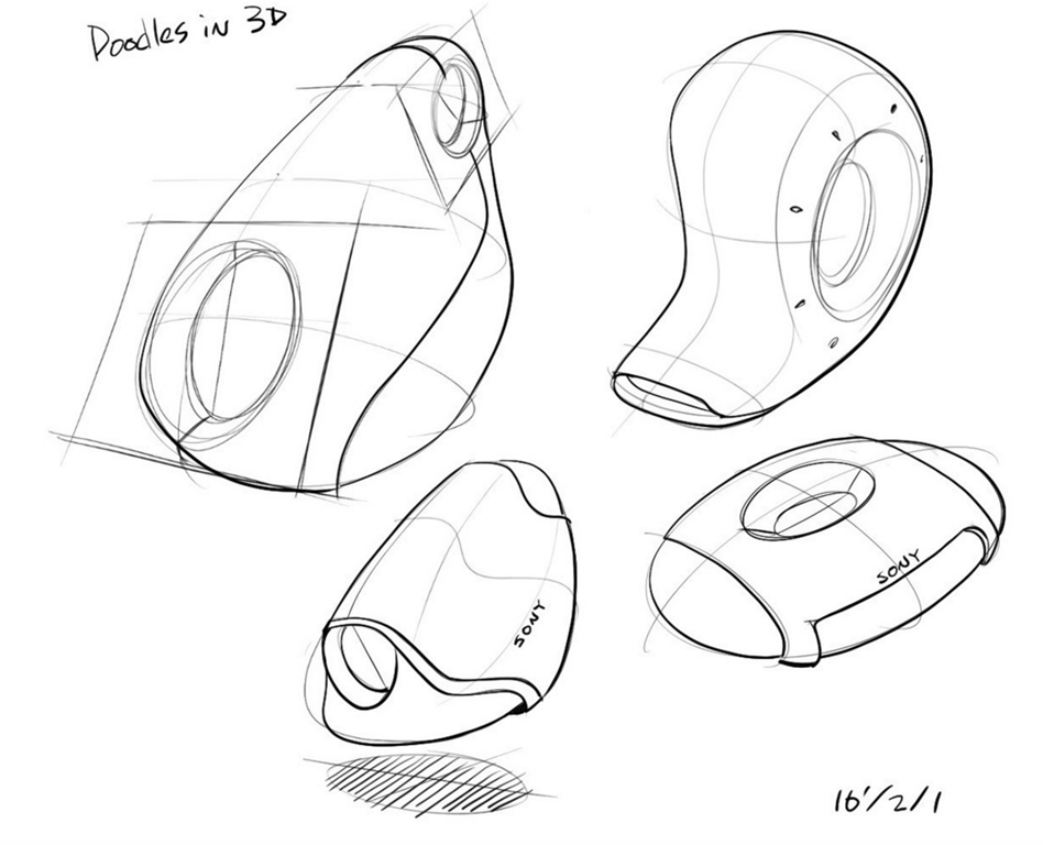 Hunag Li Chung - Sketch like the Pros - The Design Sketchbook - Training d