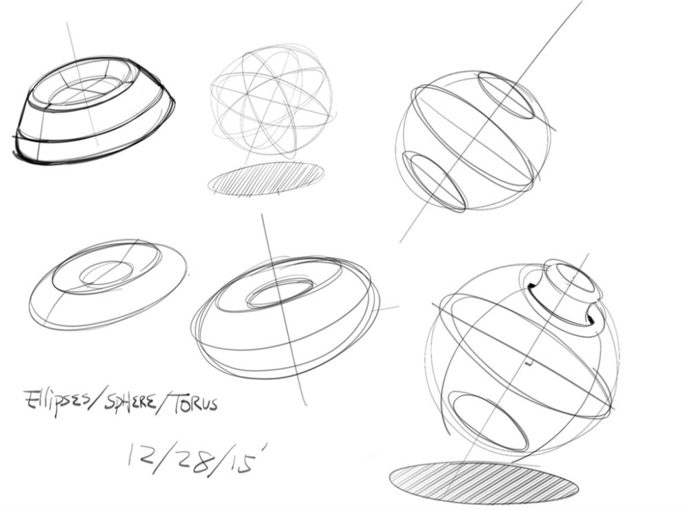 Hunag Li Chung - Sketch like the Pros - The Design Sketchbook - Training f
