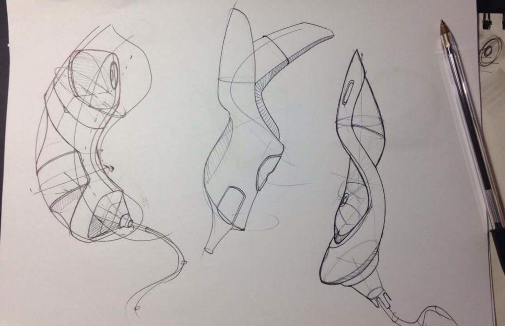 Leonardo Penaranda - Sketch Random design sketching - student sketch like the pros