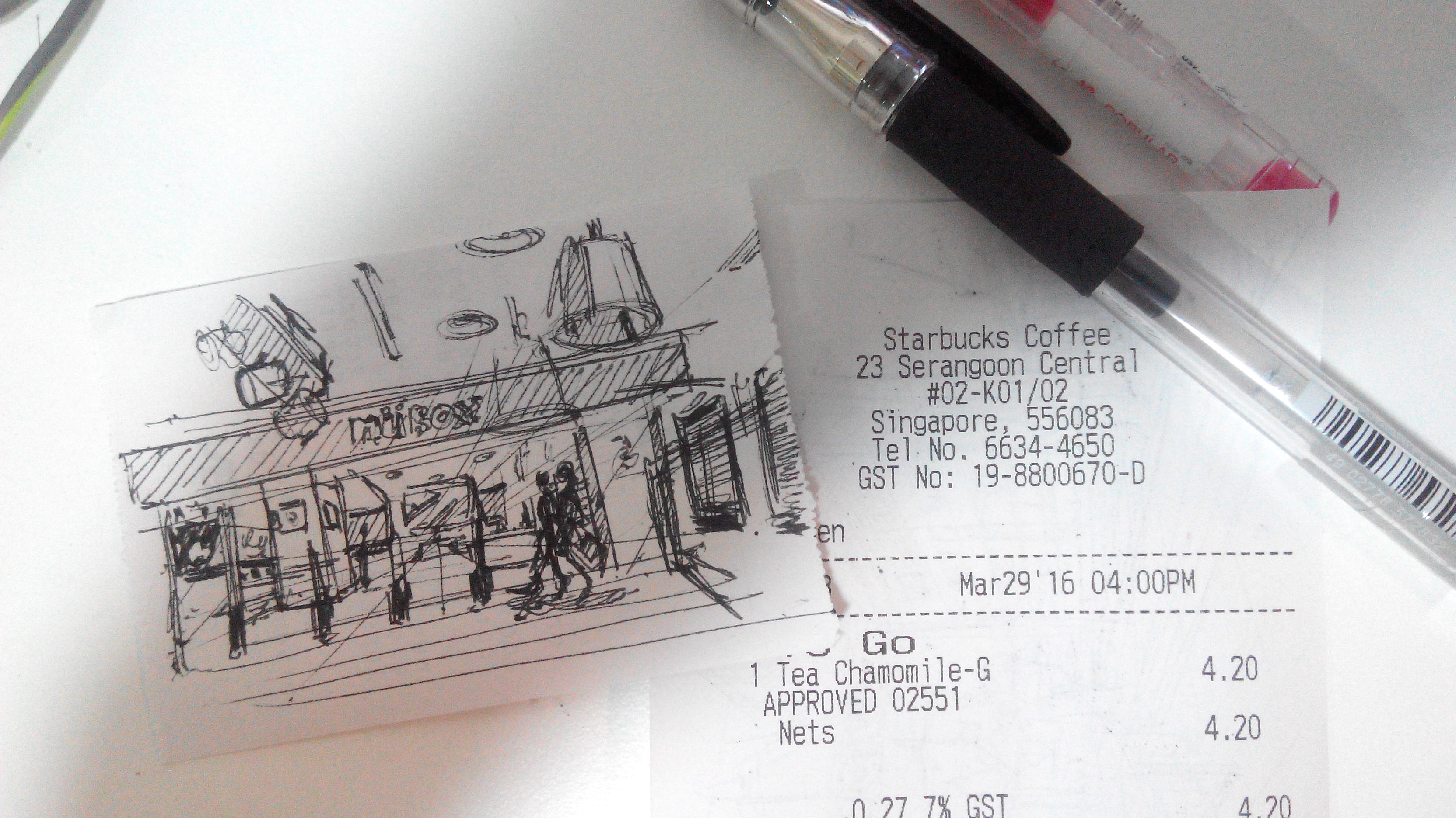 Receipt sketch in a cafe at starbuck - the design sketchbook c.jpg