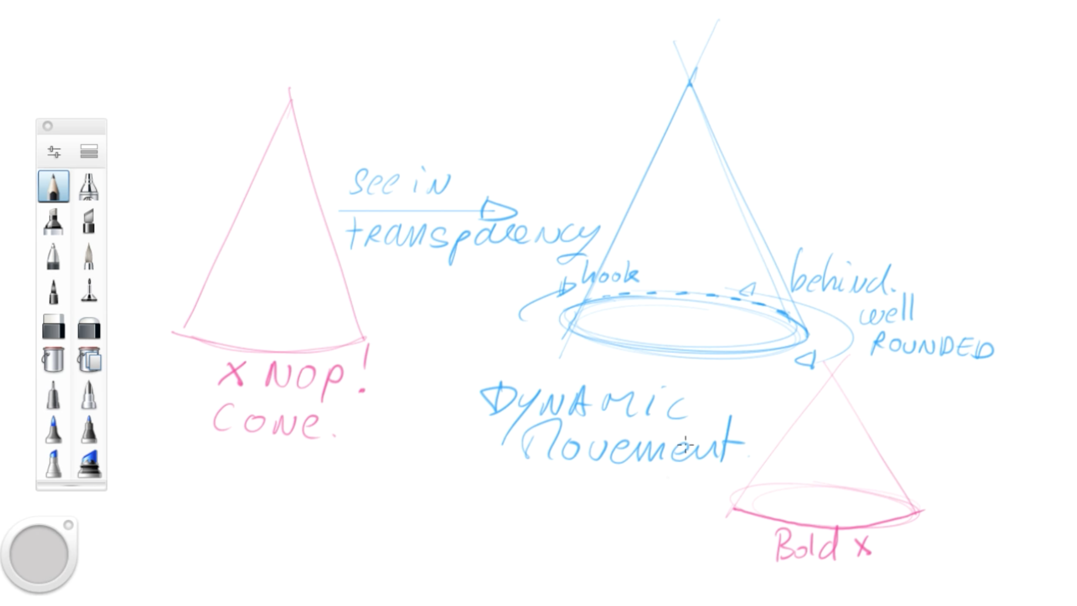 How to draw basic 3d volumes - cone - cube - cylinder - the design sketchbook - d