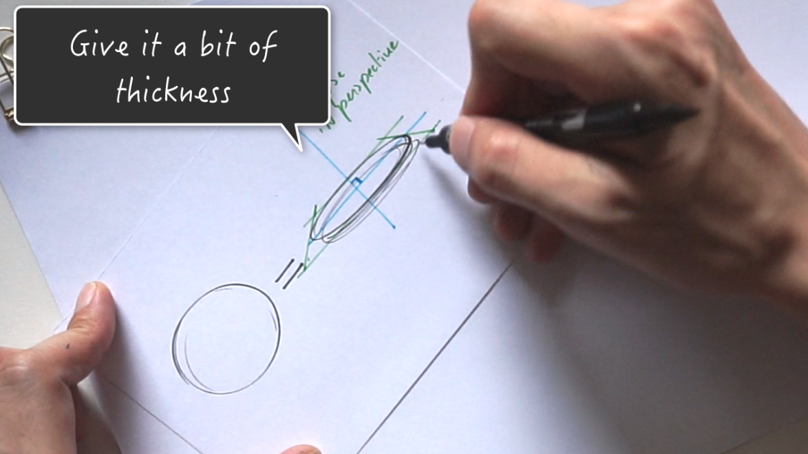 How to draw a coin The 1 miute tutorial-Industrial Design sketching-Blog d