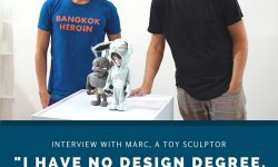 """I've no Design degree. I followed my passion and vision."" - Marc, a toy sculptor - Coarse"