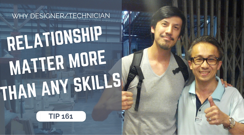 Why a good relationship designer/technician counts more than any skill?