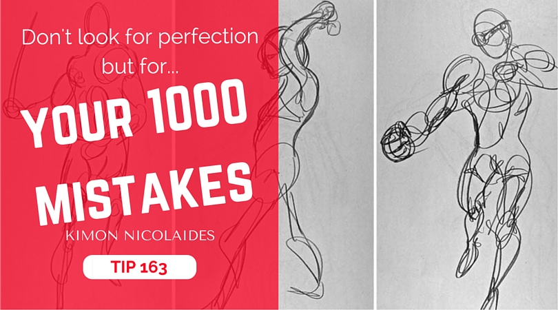 Don't look for perfection but for your 1000 mistakes | Kimon Nicolaides