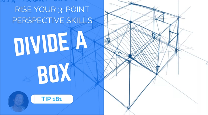 Rise your perspective skills dividing a box