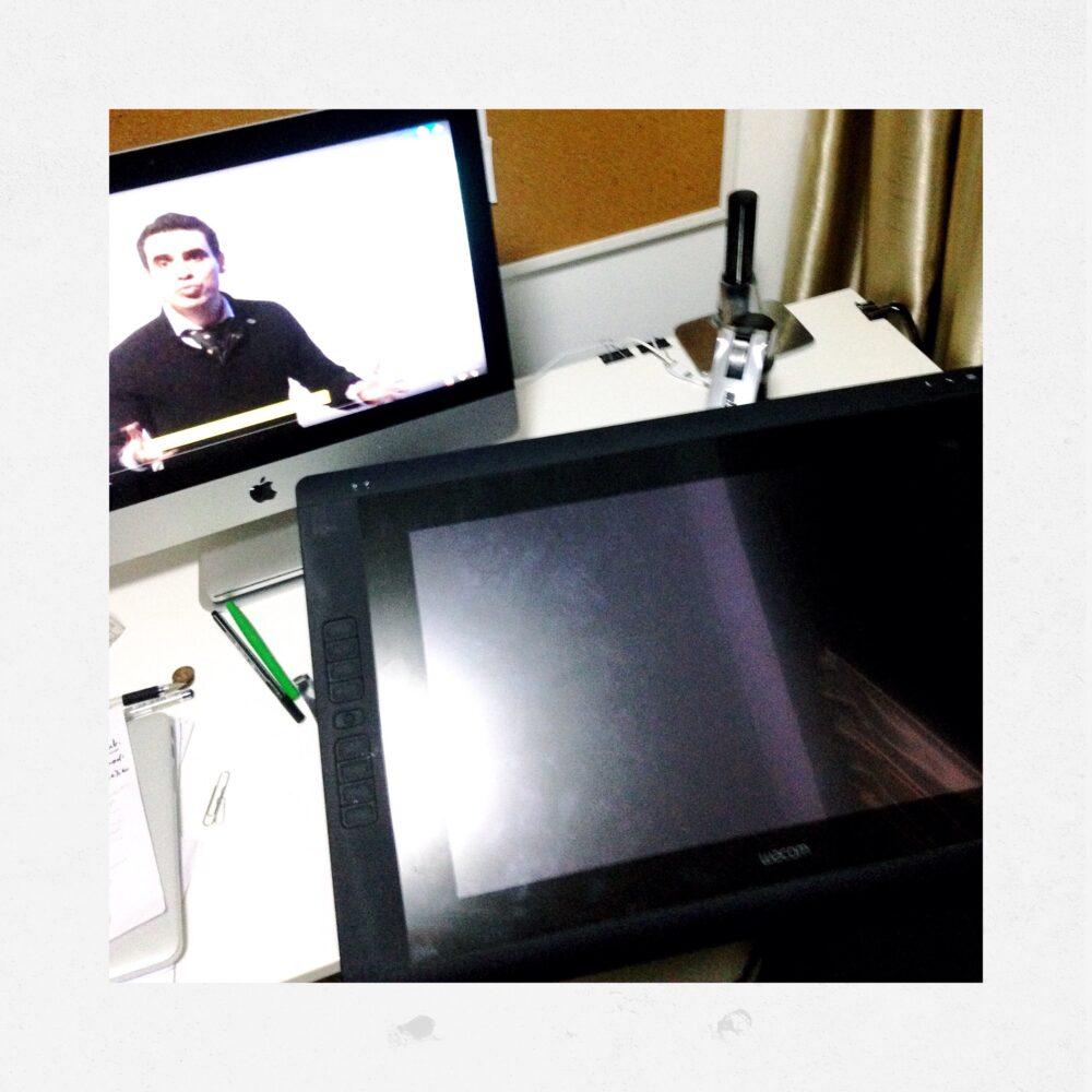 Ergotron How to install Wacom Cintiq 22HD Design Sketching the designsketchbook g.JPG
