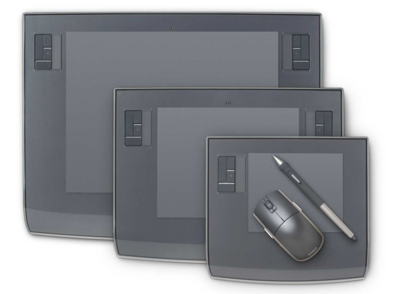 Wacom Intuos 3 graphic tablet size.png