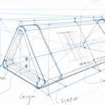 How to start your industrial design sketches very light / TIP 206 (for heavy wrist sketchers)