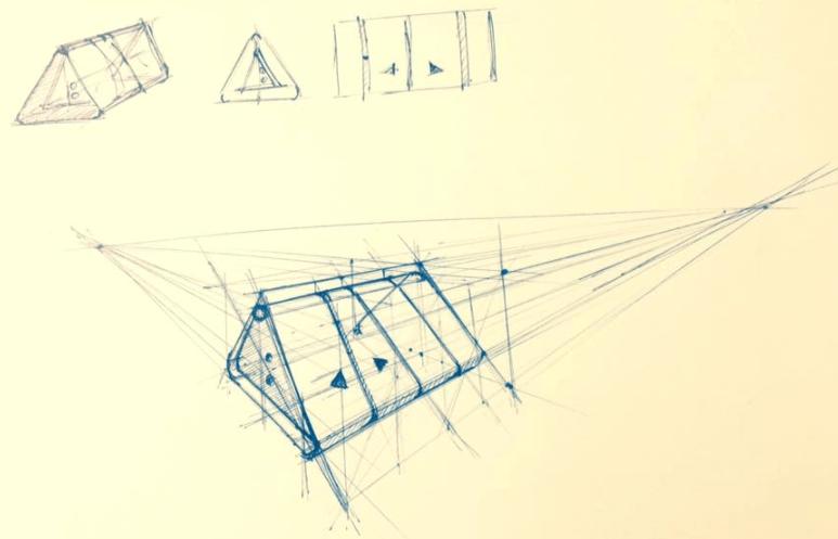 Dev Hashish Product design sketch the design sketchbook bring your sketch alive tutorial