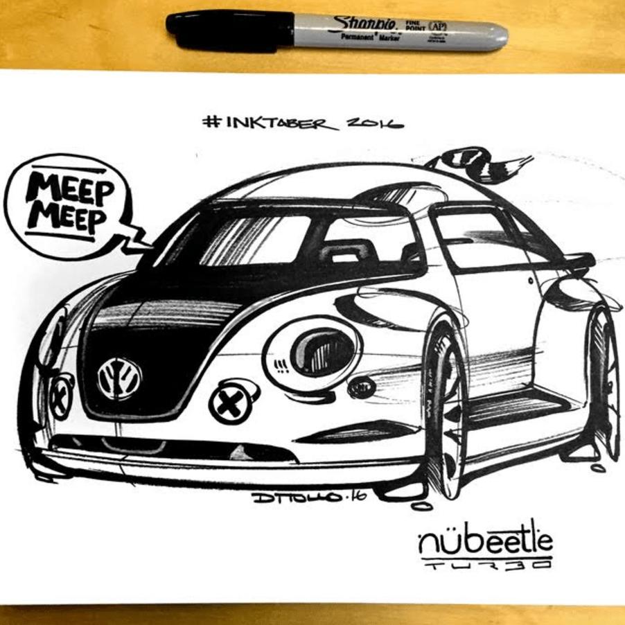 Michael DiTullo Design Sketching Sketchbook Nubeetle