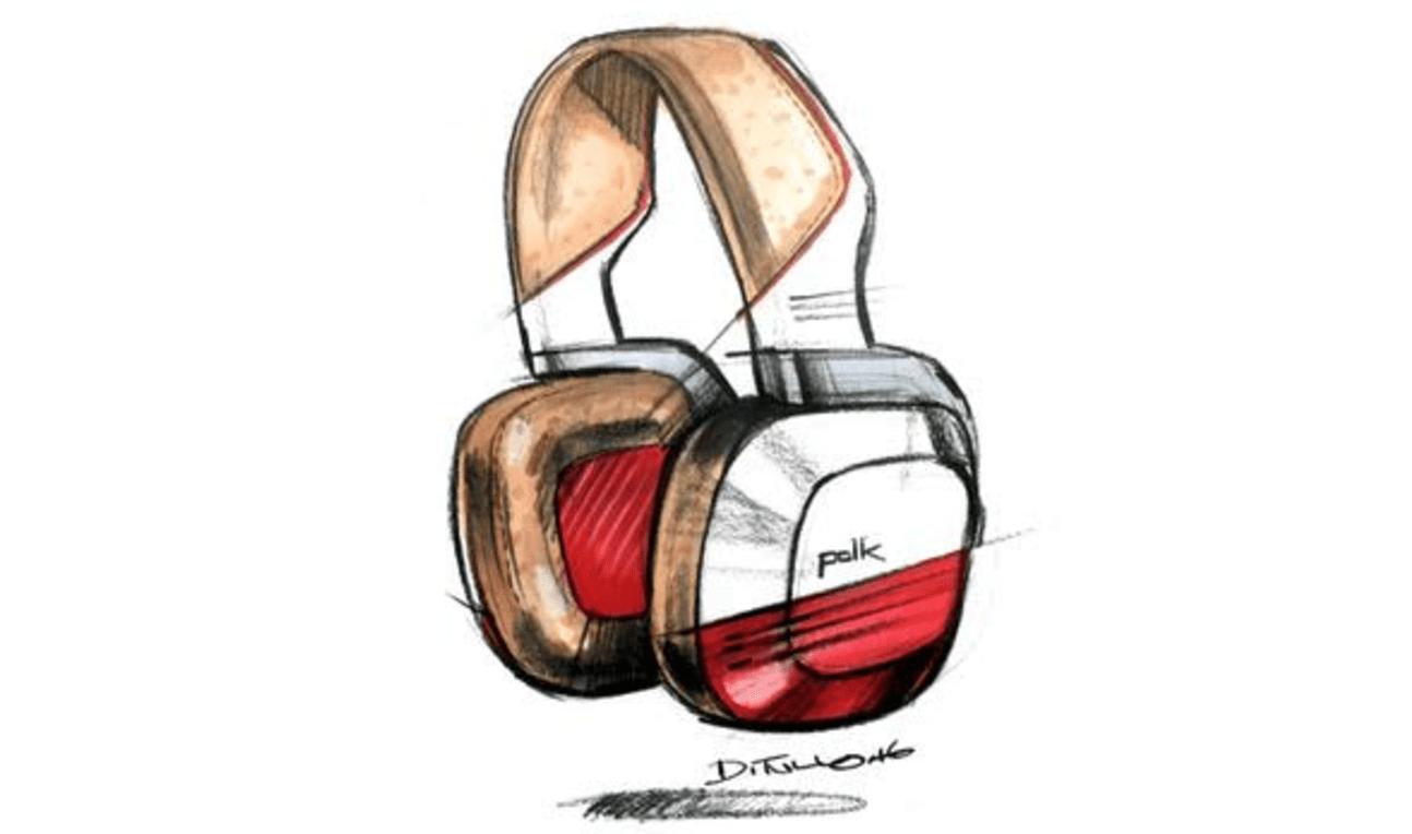 Michael DiTullo Design Sketching Sketchbook Polk Sound Helmet