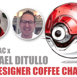 "The Designer Coffee Chat#1 ""I want to draw stuff from the future."" – Michael DiTullo"