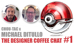 "The Designer Coffee Chat#1 ""I want to draw stuff from the future."" - Michael DiTullo"