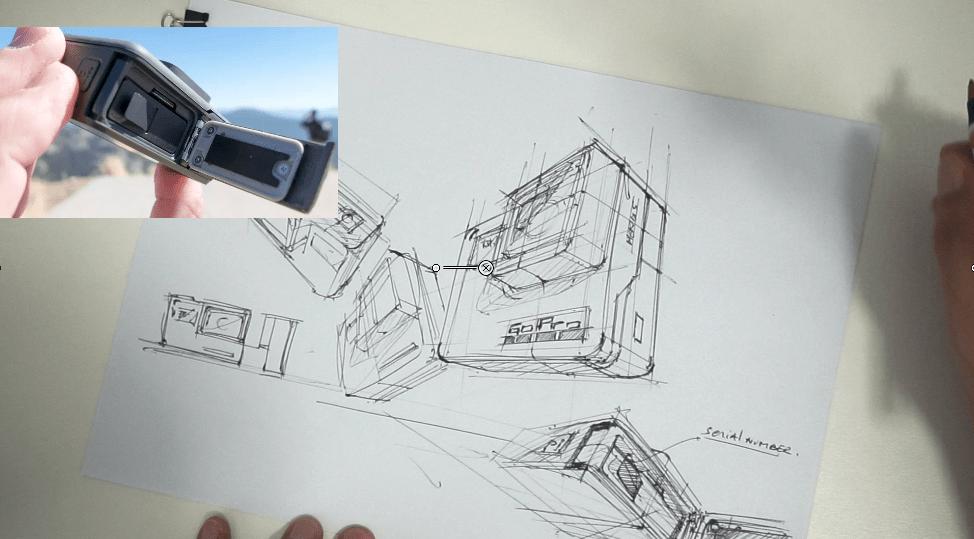 a Ugly Doodle Sketching a Go Pro - product design sketching tutorial the design sketchbook chou-tac
