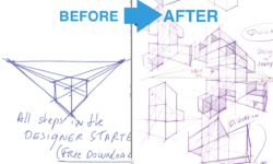 How to draw Appealing Perspective with the CUBE MANIA Challenge Part 3/3 !