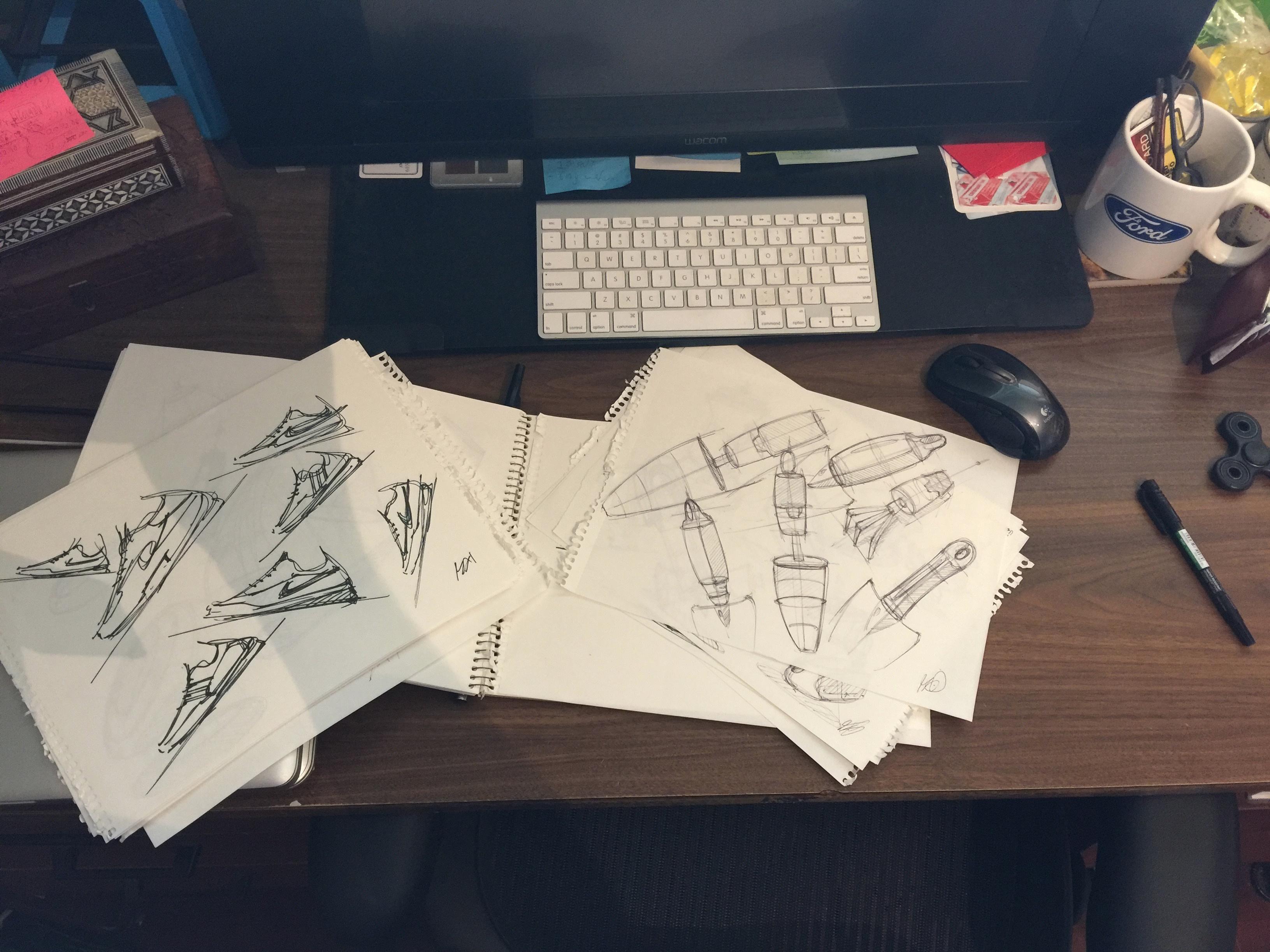Kasra's sketching zone !